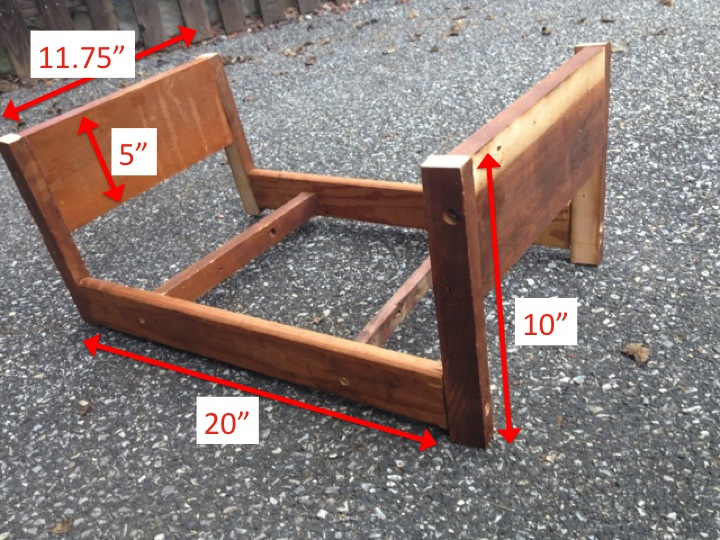 Two it yourself diy doll bed for american girl from scrapwood solutioingenieria Images