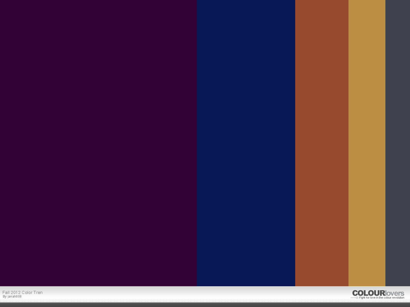 August wrinkle august 2012 - Burgundy and blue color scheme ...
