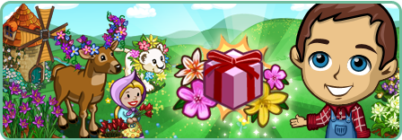 FarmVille April Shower Spring Countdown 2012 Prizes