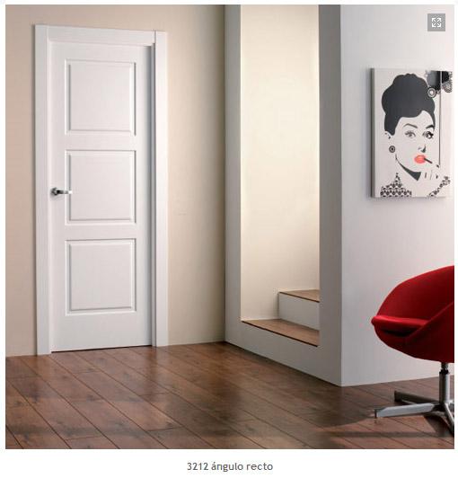 Puerta 3200 de la serie lacadas puertas proma artideco for Puertas dm lacadas en blanco