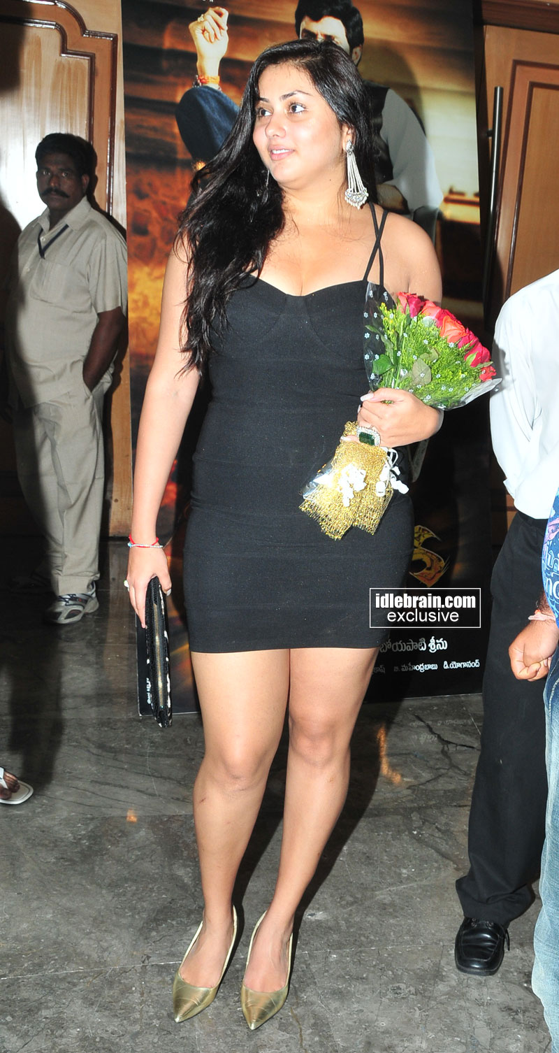 Namitha 1 - Fat Namitha at recent Event