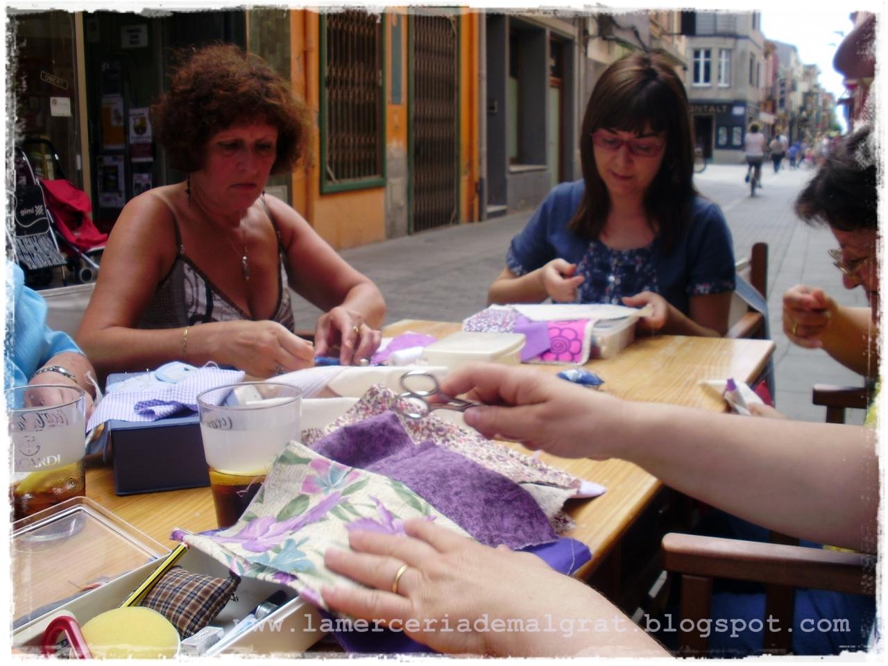 Bolsa De Trabajo Merceria Del Refugio : La merceria de malgrat dia internacional del patchwork