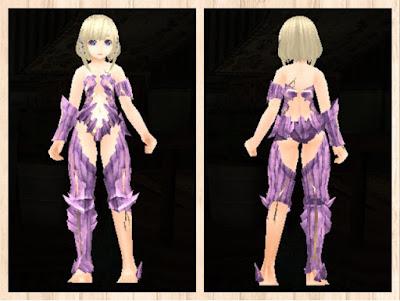 魔結晶の鎧 軽量化×ピンク1