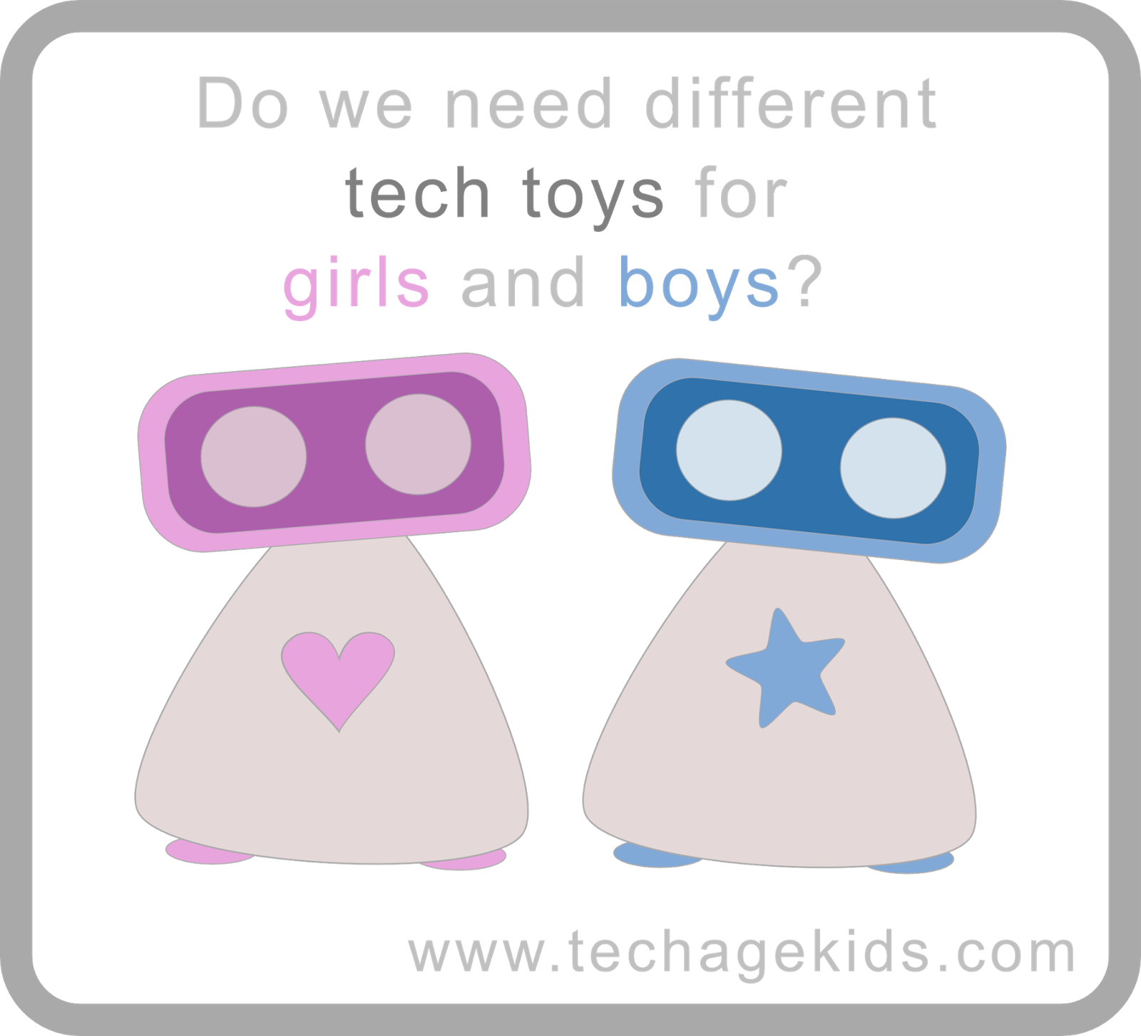 Technology Toys For Boys : Do we need different tech toys for girls and boys