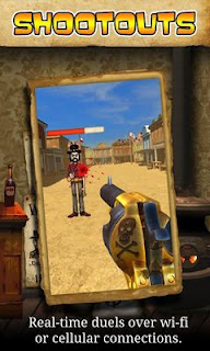 Screenshots of the Outlaw Sniper for Android tablet, phone.