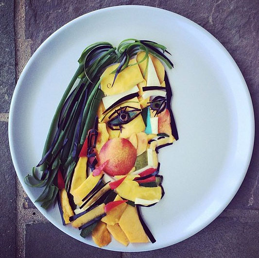 Food Art Harley Langberg Picasso Dora Maar