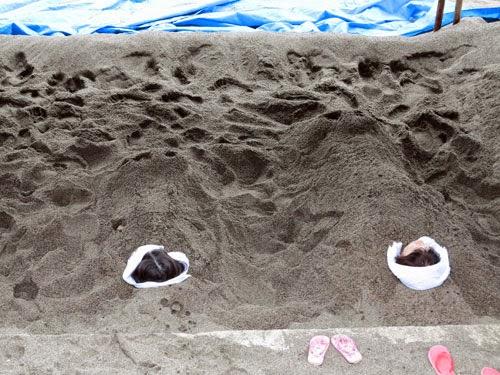 Yamakawa Sand bath, Kagoshima, Kyushu