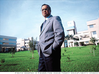 Narayana Murthy empresarios importantes