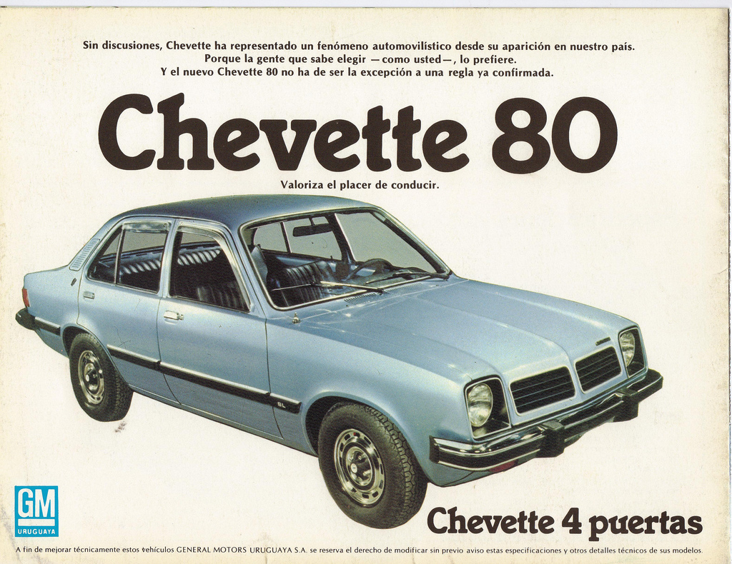 Clube do chevas chevette linha do tempo for Chevette 4 portas