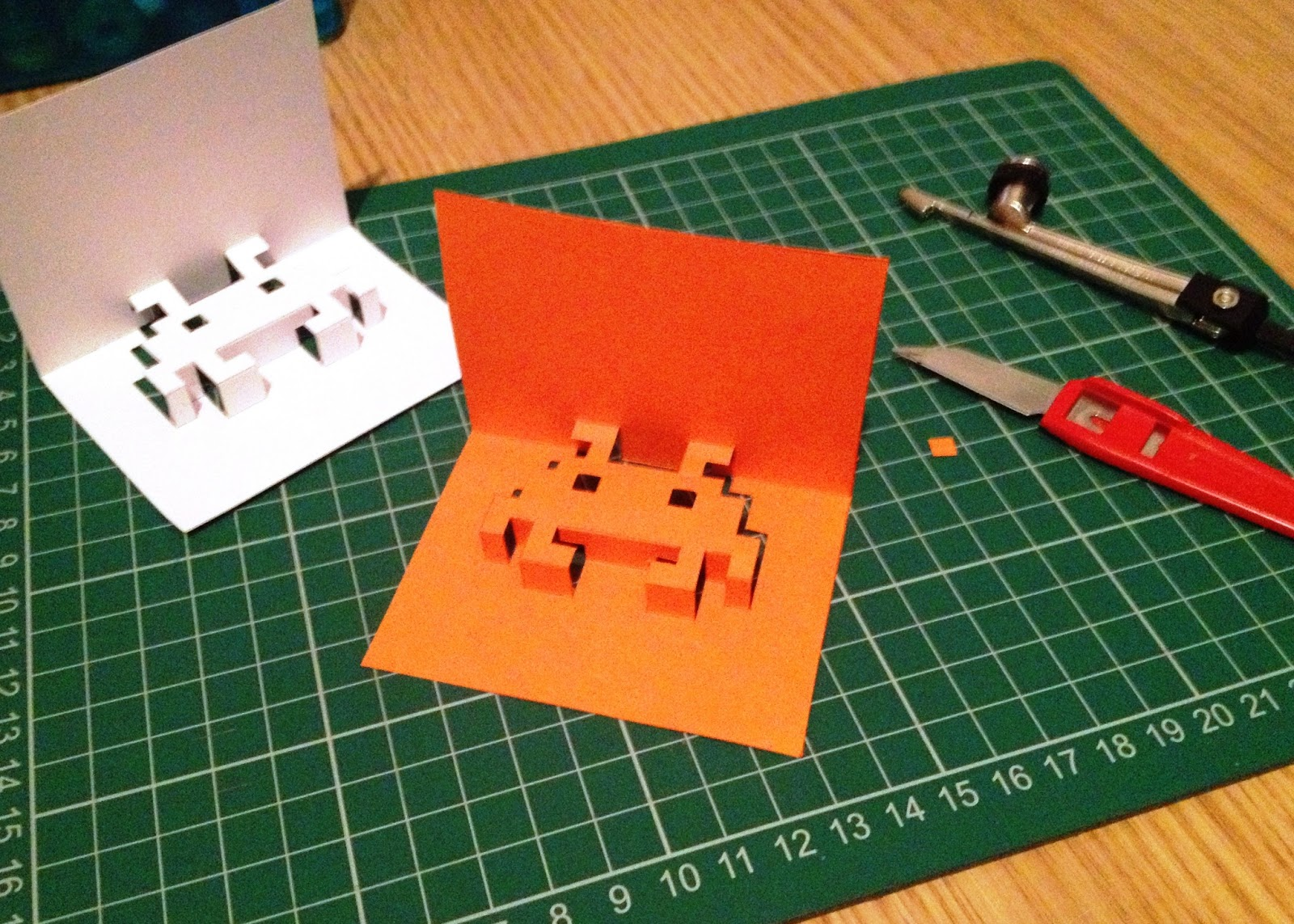 8bit popup cards minieco