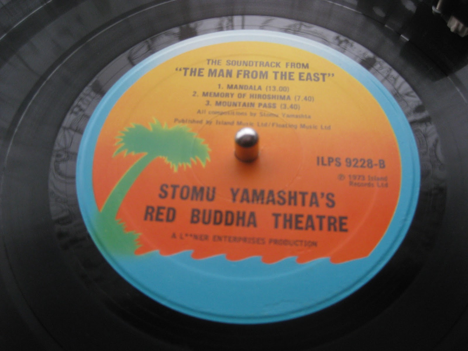 Stomu Yamashtas Red Buddha Theatre The Soundtrack From The Man From The East