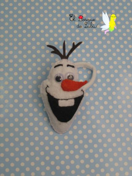 coletero-en-fieltro-de-fieltro-Olaf-Frozen-muñeco-de-nieve-regalo-infantil-niña-original-hecho-a-mano