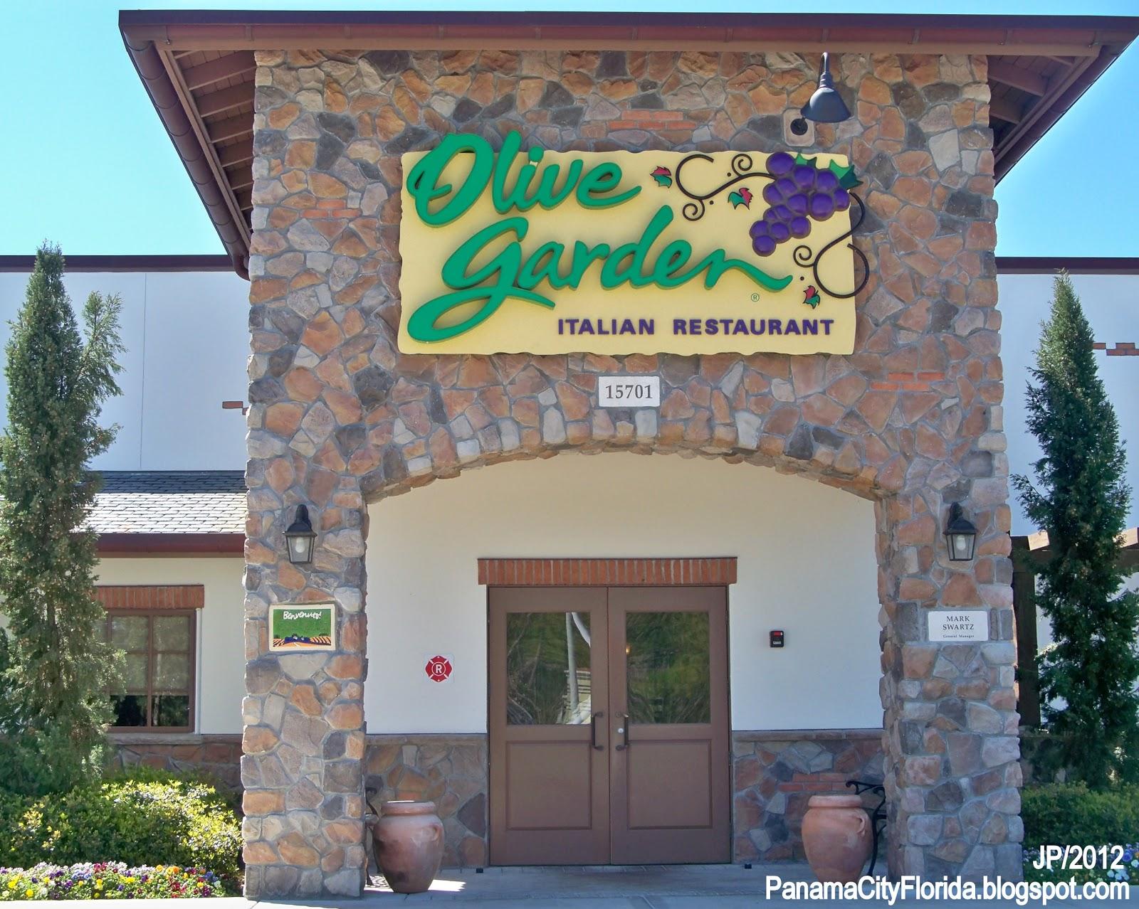 Olive Garden Panama City Beach Florida Parkway Italian Restaurant Fl Pcb Fla