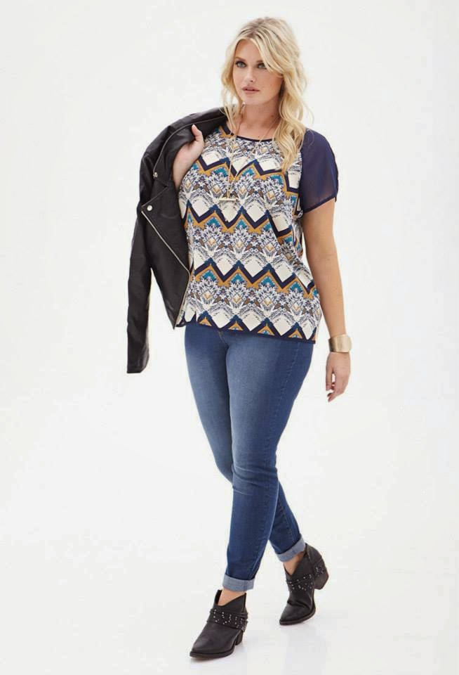 Latest Plus Size Casual And Formal Wear For Fall And Winter 2014 By