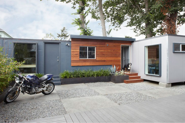 Shipping container homes building lab inc oakland ca for How to build a house in california