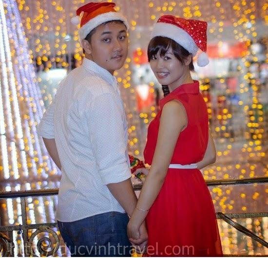 Rực rỡ với Abum cưới trong mùa Giáng Sinh