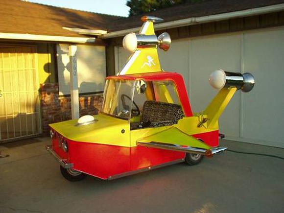 Pimp My Rocket - Burning Man Mutant Vehicle - For Sale