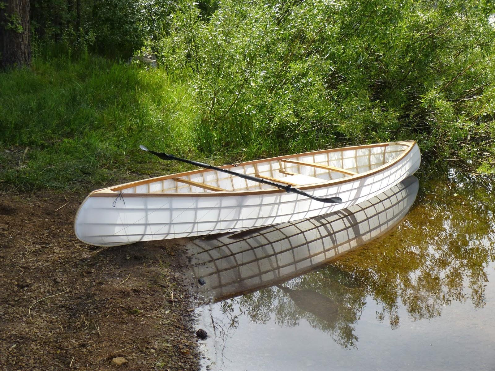 My Skin on Frame Canoe: How I Built My Skin On Frame Canoe