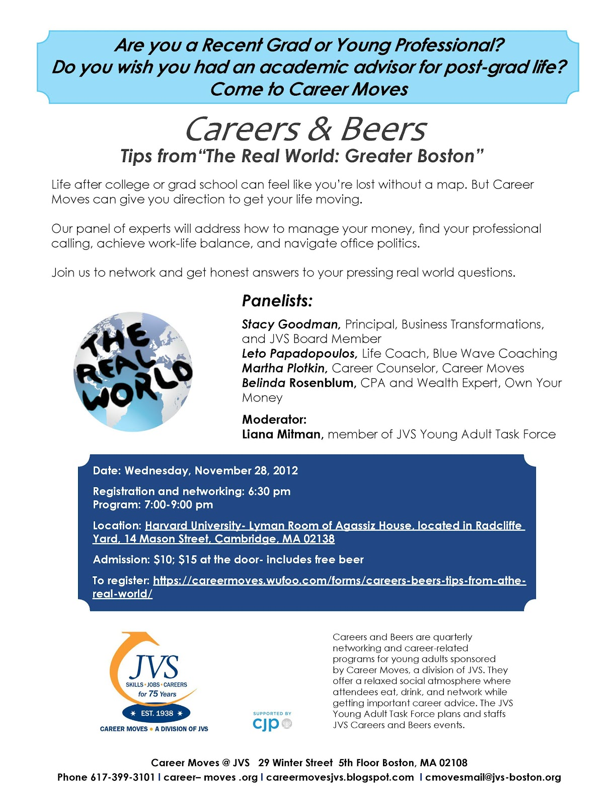 martha plotkin will be discussing this topic further at careers and beers a networking and panel event for young professionals