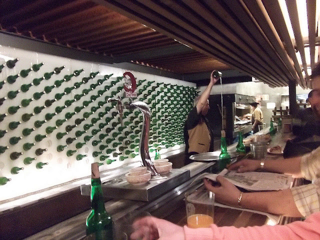 Restaurante Tierra Astur en Colloto, Asturias. Sidra