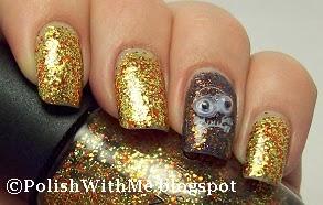 Stamped nails, stamped nail art, stamp nail art, stamping, nail stamping, Nailart, SINFUL COLORS, BLACK MAGIC, PUMPKIN SPICE, FINGER PAINTS, PAPER MACHE