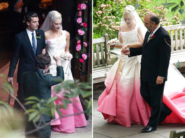 Weddings gwen stefani wedding dress cool chic style fashion gwen stefani wedding dress junglespirit Images
