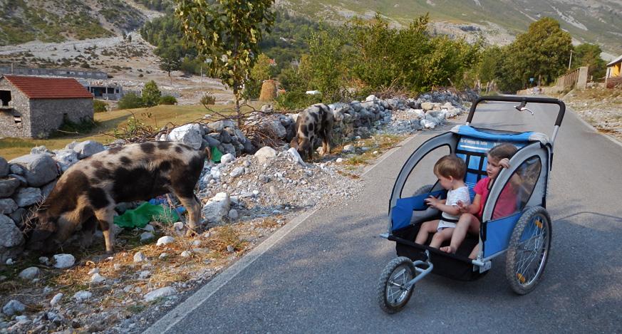 Ania i Miłosz w Albanii