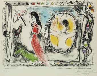 That 39 s inked up printmaking 39 s day dreamer marc chagall for Miroir egyptien