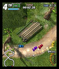 I.Dreams. K Rally S60v3 Mobile Phone Game