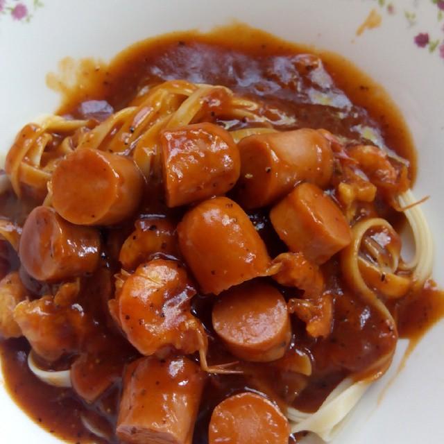 Spaghetti Sedap