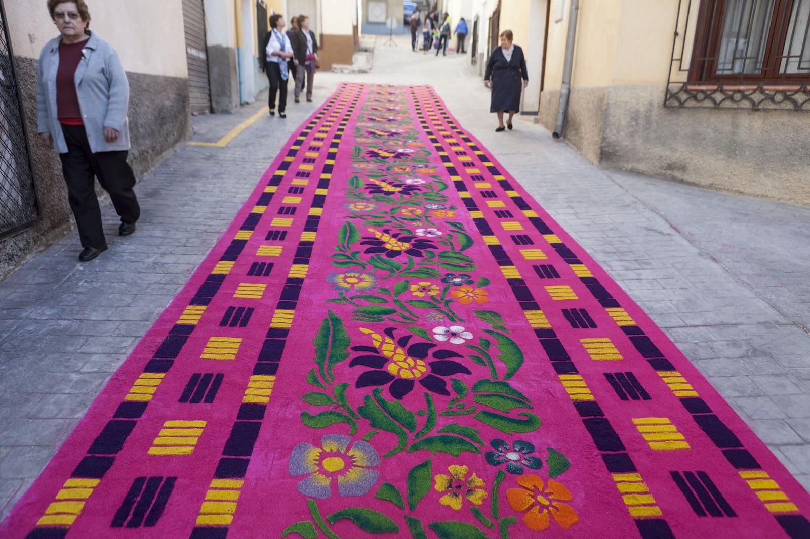 El rendrijero alfombras de serr n - Alfombras sierra ...