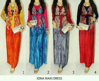 Iona Maxi Dress fit to L