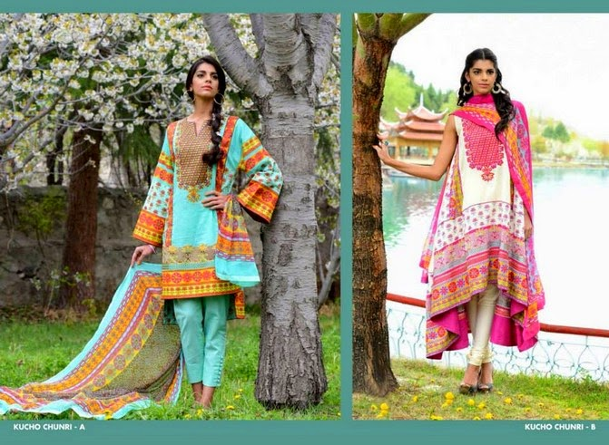 WardaSaleemLawn2014ByShariqTextile wwwfashionhuntworldblogspot 16  - Warda Saleem Lawn Collection 2014 By Shariq Textile
