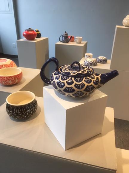 New ceramics exhibit in Kerredge Gallery