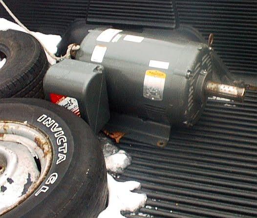 Electric Motor Armature For Scrap