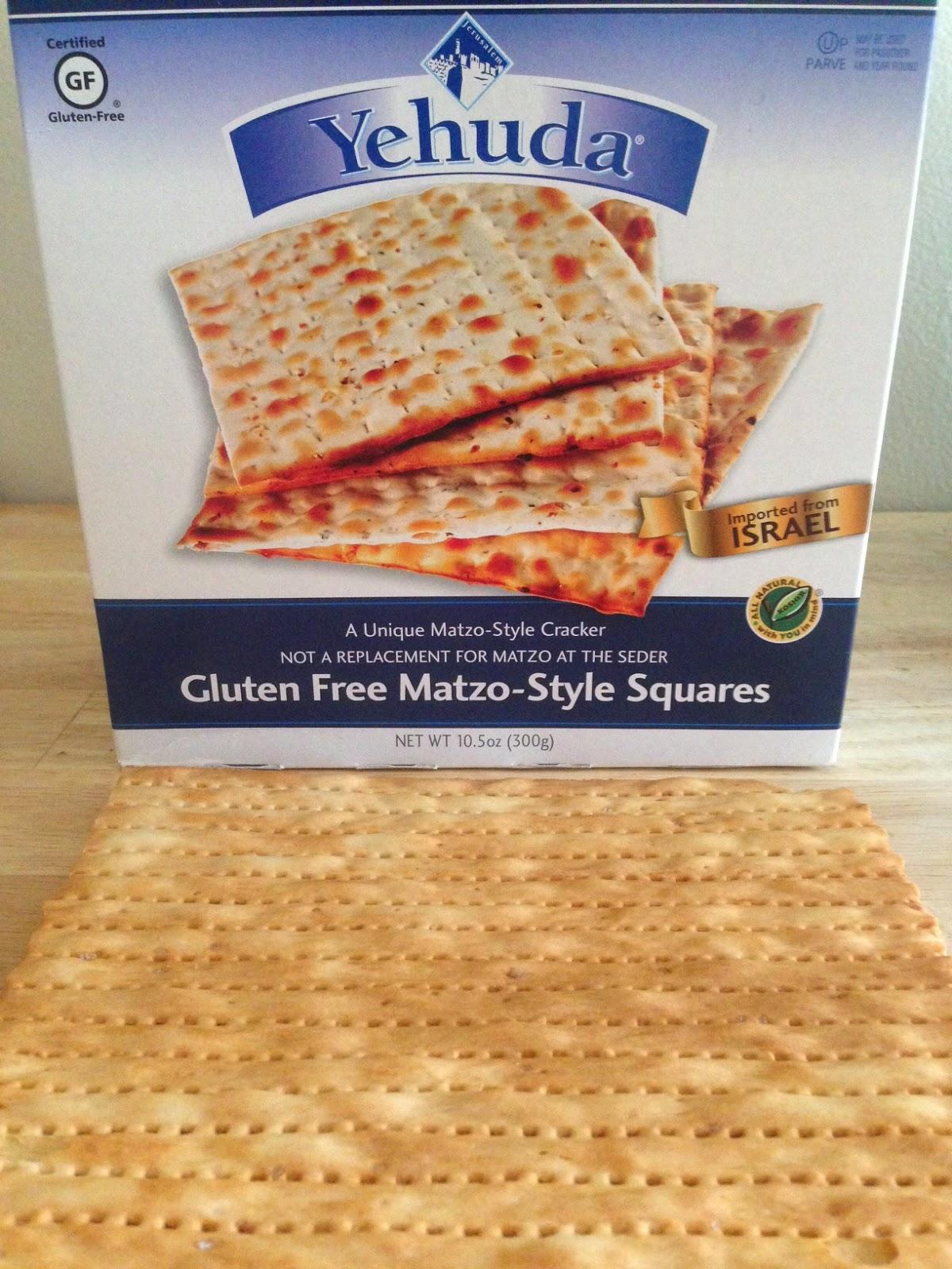 Gluten-Free matzo for @GlutenFreeG matzo brei recipe
