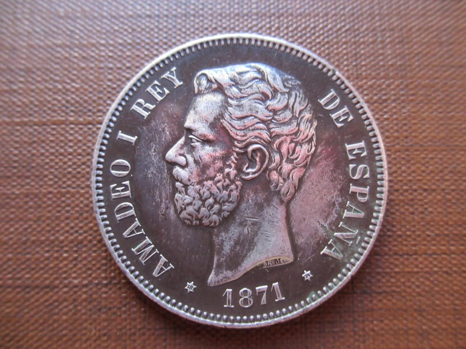 5 Pesetas Amadeo I 1874 IMG_0760