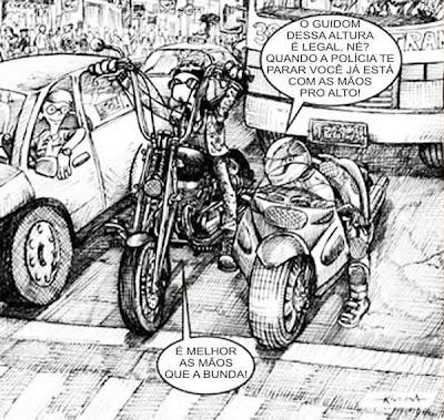 Piadas curtas sobre motos
