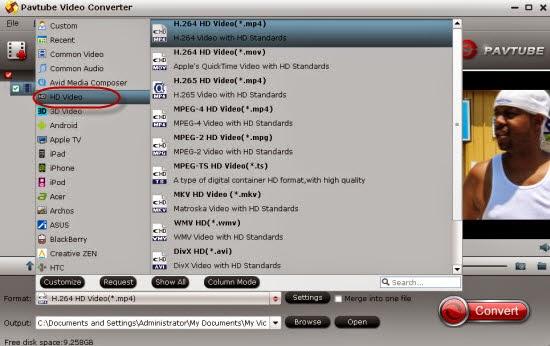 Convert Samsung NX1 H.265/HEVC Videos on VLC  Format-to-hd