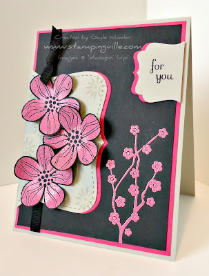 Stampin' Up! Eastern Blooms Stamp Set Card Idea