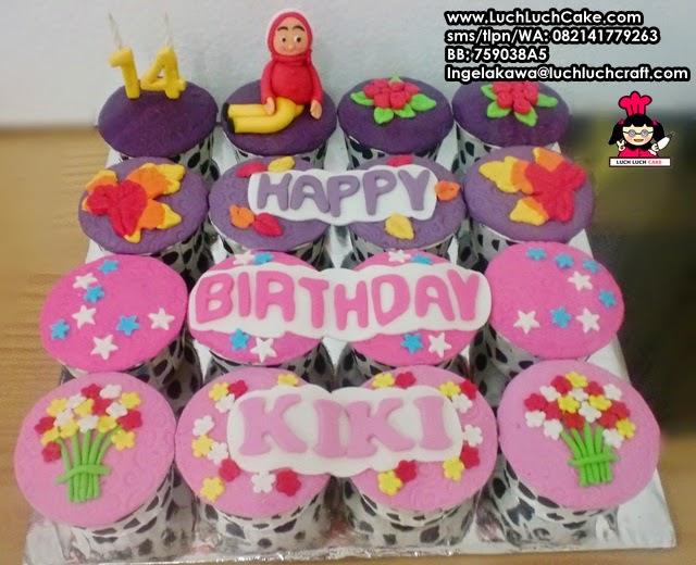 Cupcake Ulang Tahun Cantik Untuk Anak Remaja Daerah Surabaya - Sidoarjo