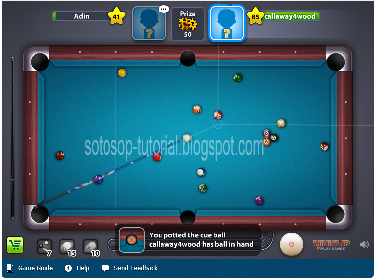 Judul: Cheat Garis 8 Ball Pool 2013 100% Work