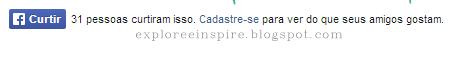 como adicionar botão curtir no blog