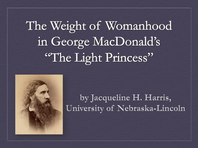 Jacqueline H. Harris Weight of Womanhood George MacDonald Light Princess