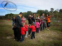 sessió de senderisme interpretatiu per a nens, descubrint el nostre entorn