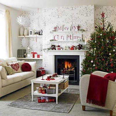 White Christmas Tree Decorating Ideas for 2012