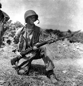 WW2 US Marine Guadalcanal M1 Garand