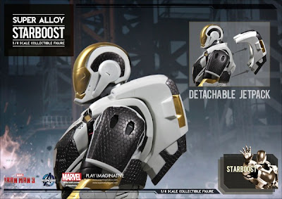 "Play Imaginative 1/4 Scale Super Alloy Iron Man 3 ""Starboost"" Armor"
