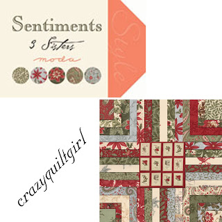 Moda SENTIMENTS Christmas Quilt Fabric by 3 Sisters