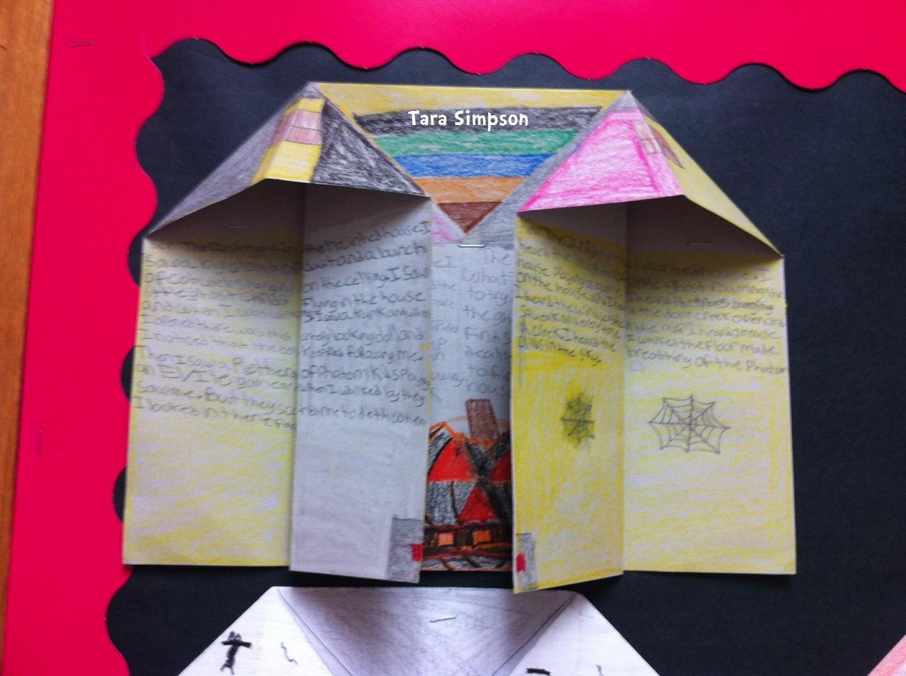 descriptive essays on haunted houses